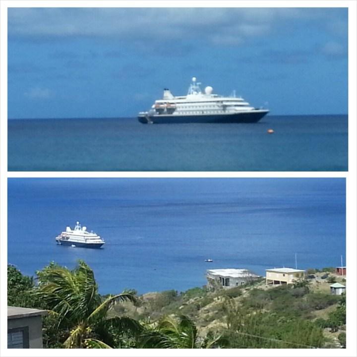 Sea Dream in Little Bay on February 24, 2015.