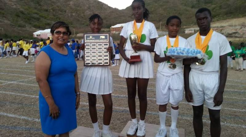 Brades Primary School won the Joint Primary School Sports Meet for the fifth year in a row on Wednesday, March 25, 2015.