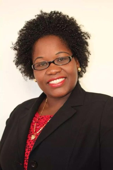 Hon. Minister of Education & Health Mrs Delmaude Ryan