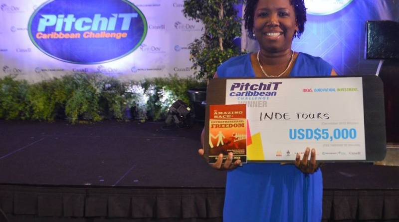 Discover Montserrat's editor Nerissa Golden wins one of the 5 coveted spots in the PitchIt Caribbean mobile app competition.