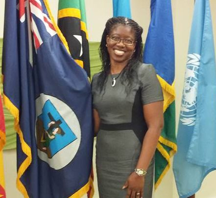 Angela Estwick, Director of Development Planning and Policy in the Office of the Premier