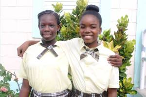 Two Lookout Primary students made the top 10 for the 2017 CPEA. (Spirit of Montserrat Photo)