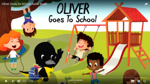 Screenshot of Oliver Goes to School Audio Book
