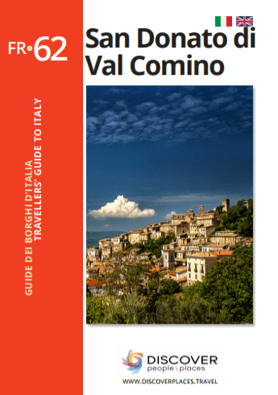 Guide of San Donato Val di Comino book cover