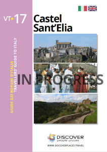 Guide of Castel Sant'Elia book cover