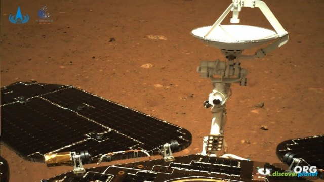 China's Zhurong rover sent back pictures of Utopia Planitia