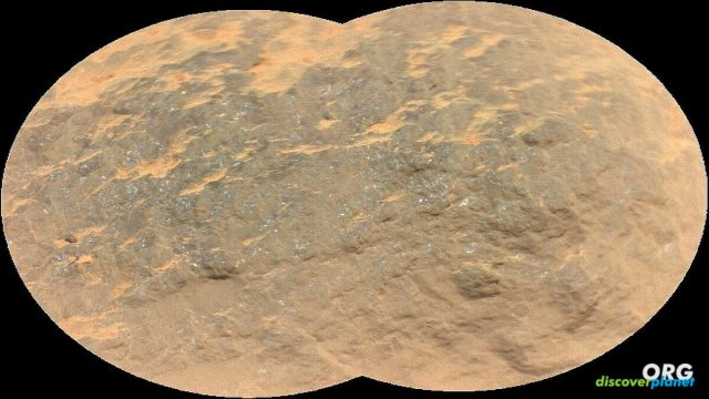 Perseverance's first laser shots on Mars