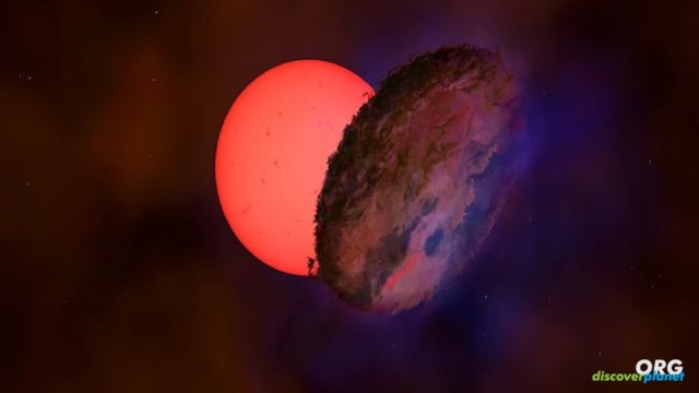 Astronomers find a star called VVV-WIT-08 100 times larger than our sun