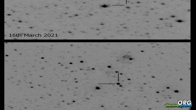 A 'new star' Nova Cas 2021 erupted in Cassiopeia