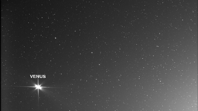 Solar Orbiter captured Venus, Earth, and Mars together
