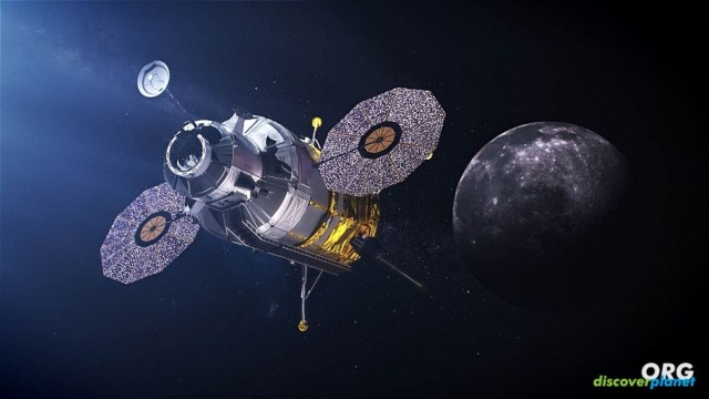 One-stage reusable lunar lander that could transport astronauts to and from the Moon