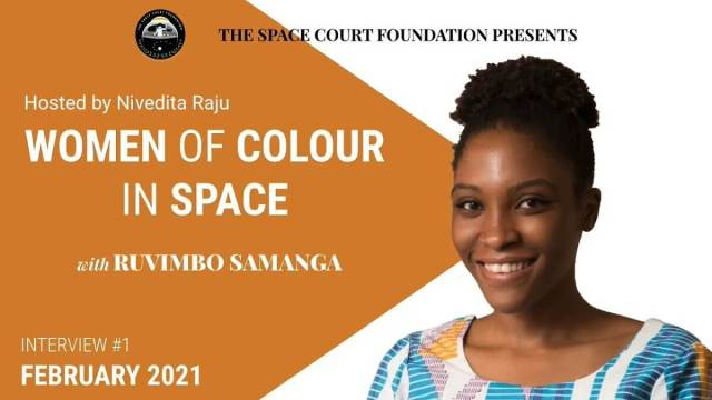 """SCF is launching series: """"Women of Color in Space"""""""