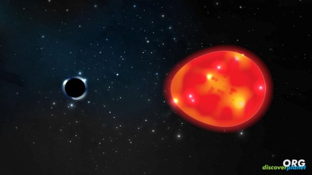 Closest black hole we've discovered, at only 1,500 light-years away