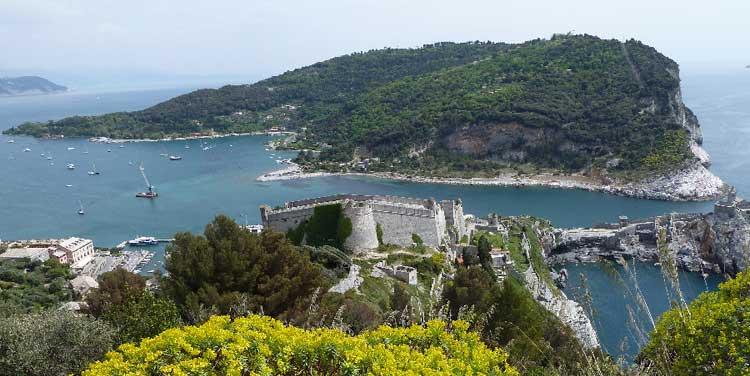 Palmaria Island seen from Porto Venere, photo by De Maio Agostino
