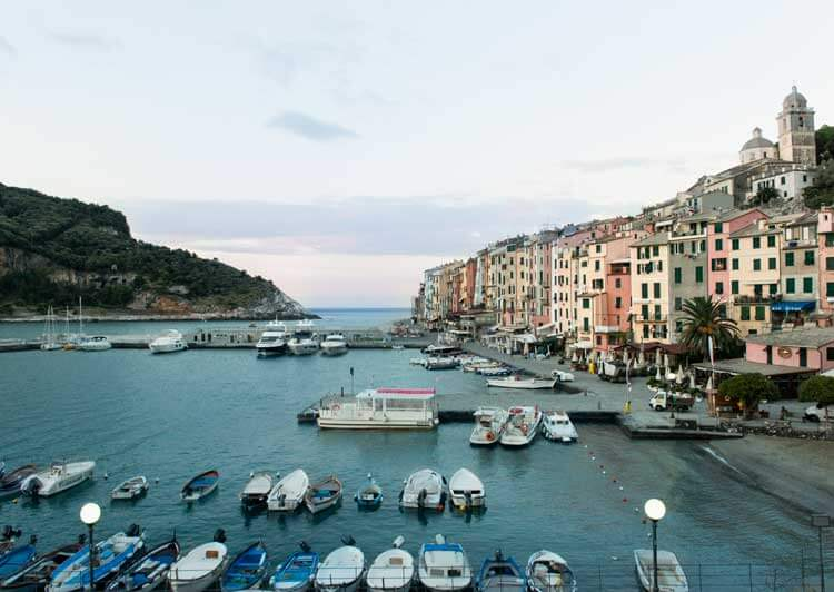 Harbor of Portovenere, Liguria