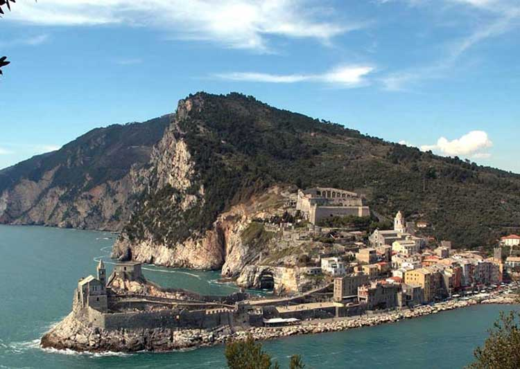 Panoramic shot of Portovenere