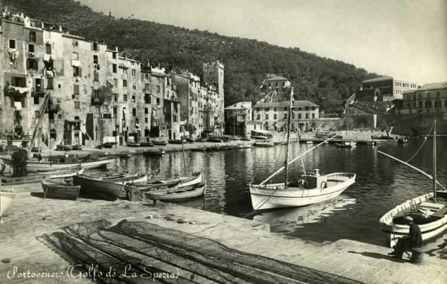 Portovenere, old postcard