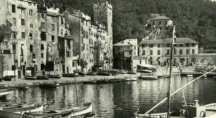 Vintage Portovenere: old postcards of La Spezia Gulf, Liguria
