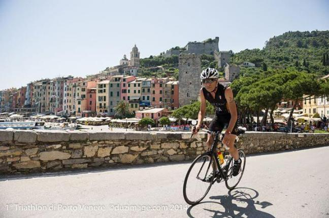 Cycling around Portovenere, Triathlon Sprint