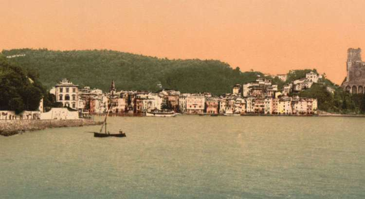 Lerici between 1890 and 1900 (Liguria)