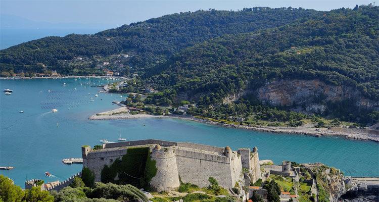 Castles in Liguria: Castello di Portovenere