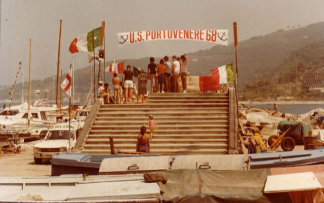 US Borgata di Portovenere : Palio of the Gulf Regatta, Liguria