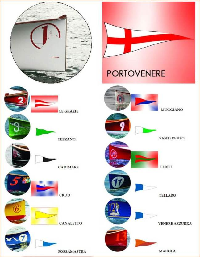 Borgate Marinare: racing teams in the Palio of La Spezia