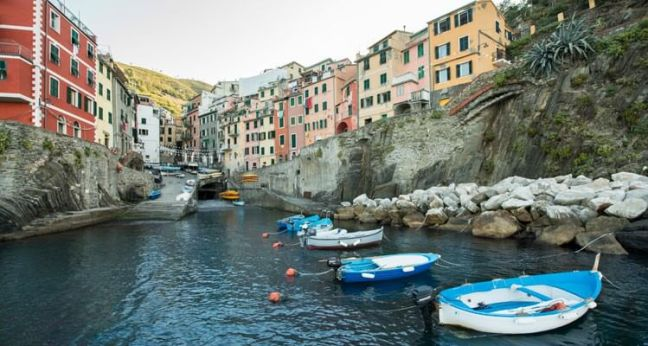 Sailing in the Cinque Terre, Liguria