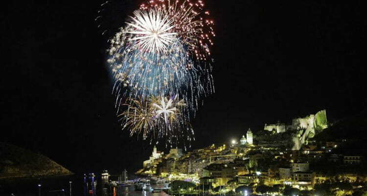 September in Portovenere fireworks