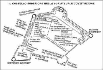Doria Castle map