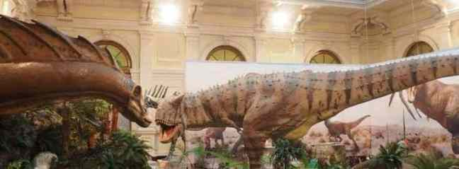 Dinosaur Exhibition in Genoa