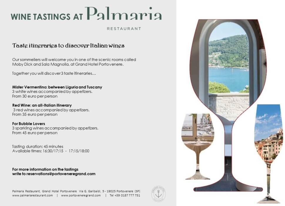 portovenere wine tasting