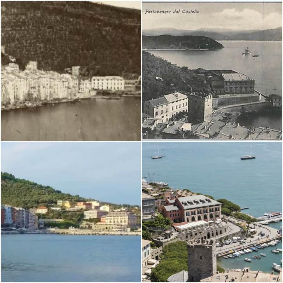 Dimore Storiche: ancient buildings in Cinque Terre, Portovenere, Spezia