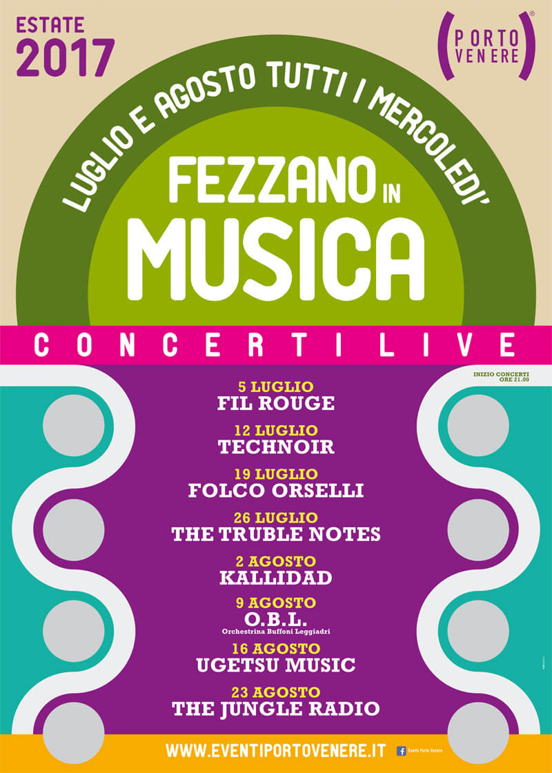 summer events portovenere music