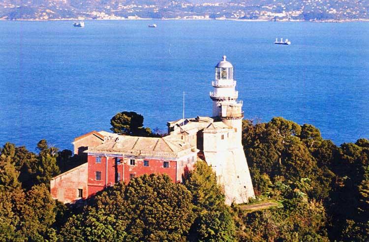 Tino Island lighthouse, San Venerio Festival