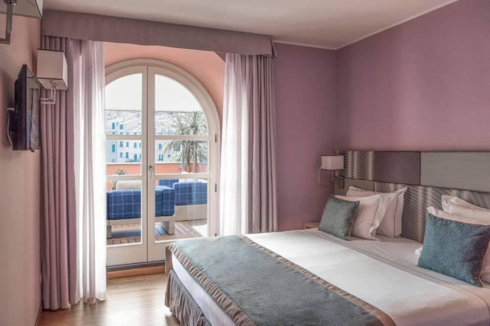 luxury suite cinque terre panorama