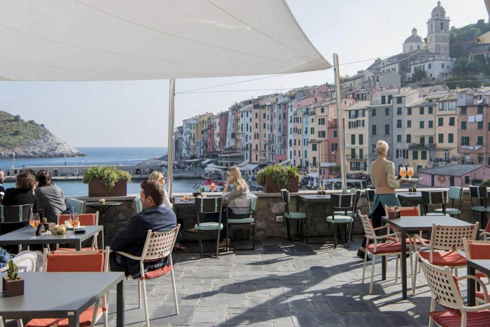 sea view restaurant portovenere