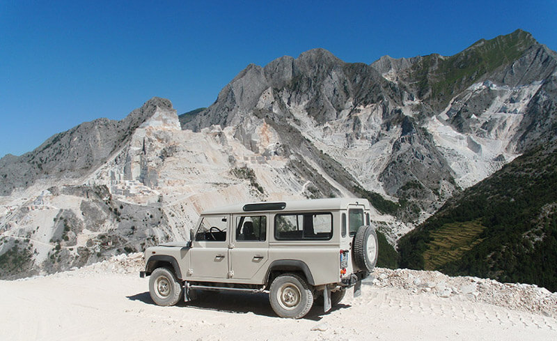 carrara marble tour quarry tuscany