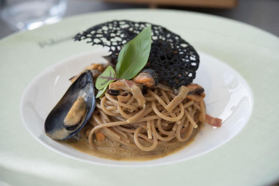 sea carbonara recipe mussels
