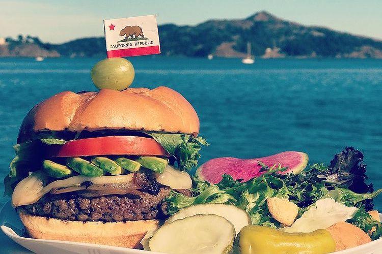 Best Sausalito Burgers Hero