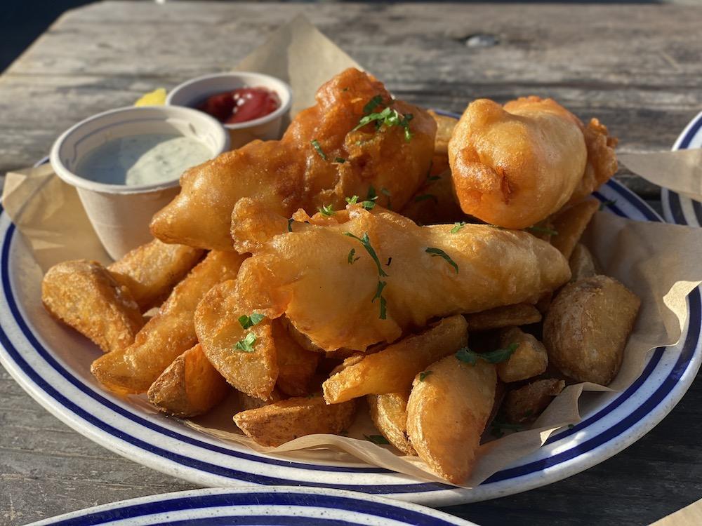 Fish & Chips at Fish
