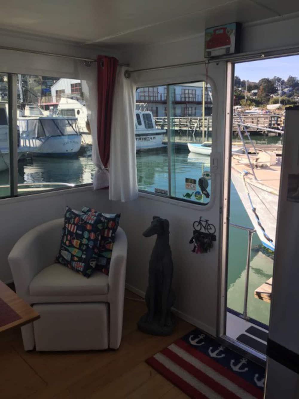 Sausalito Houseboats - Bridgeway Boat Entrance