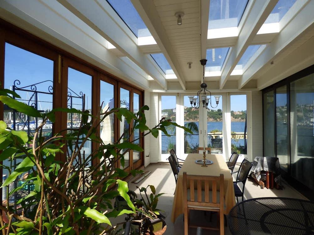 Sausalito Houseboats - Ferryboat Solarium