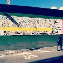 """Copenhagen street art!"" - Johanna Goethe"