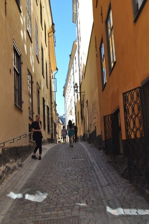Discovering the labyrinth that is Gamla Stan