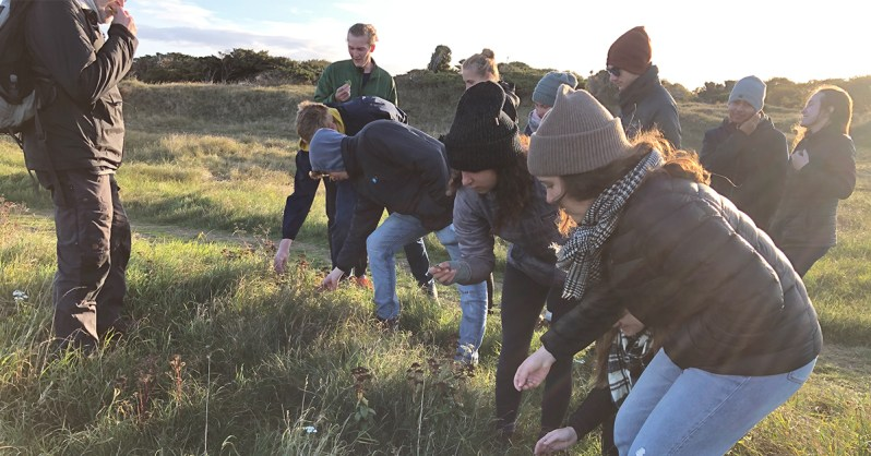 Live Local, Think Global: Highlights from This Fall's Study Tours Foraging Geopark Odsherred