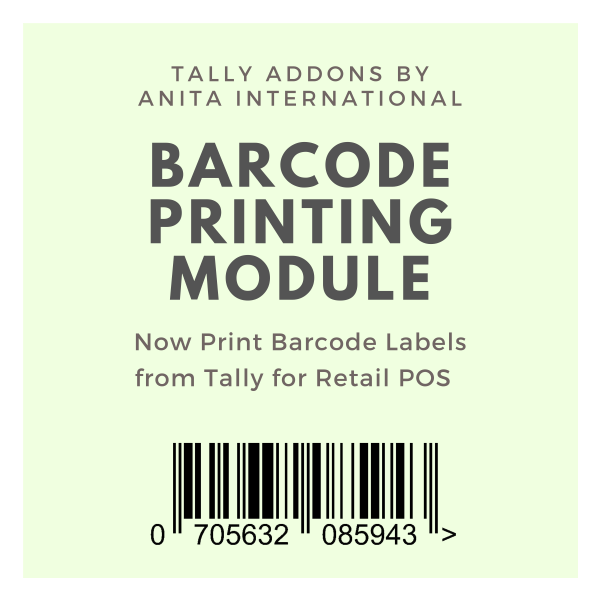 Barcode Priniting in Tally TDL