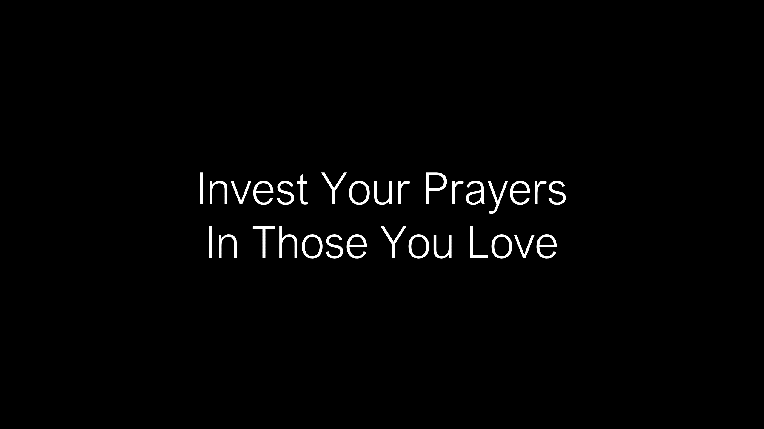 COP-08 - Learning How To Pray Through Life For Those You Love (7)