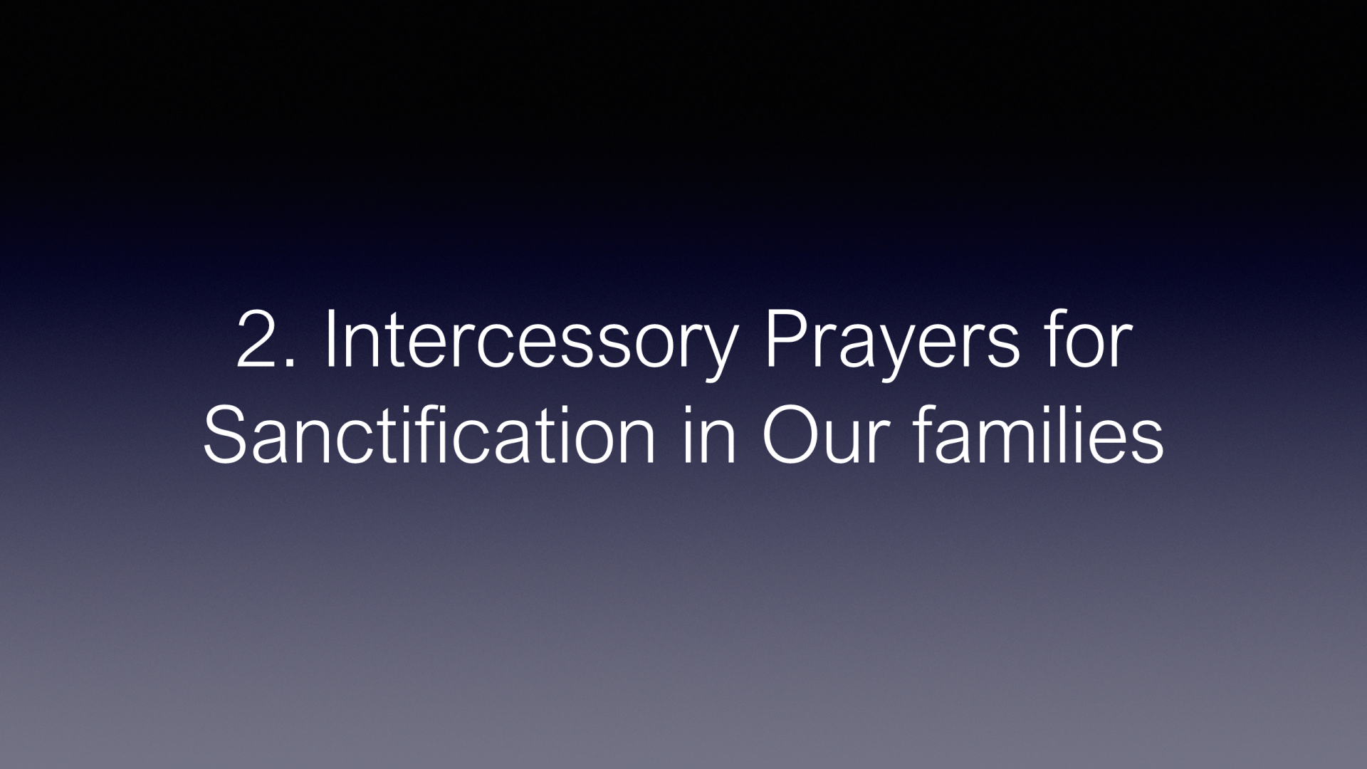 COP-09 - How to Pray for Those We Love Part 2 - Praying for Integrity in Their Personal Lives (6)