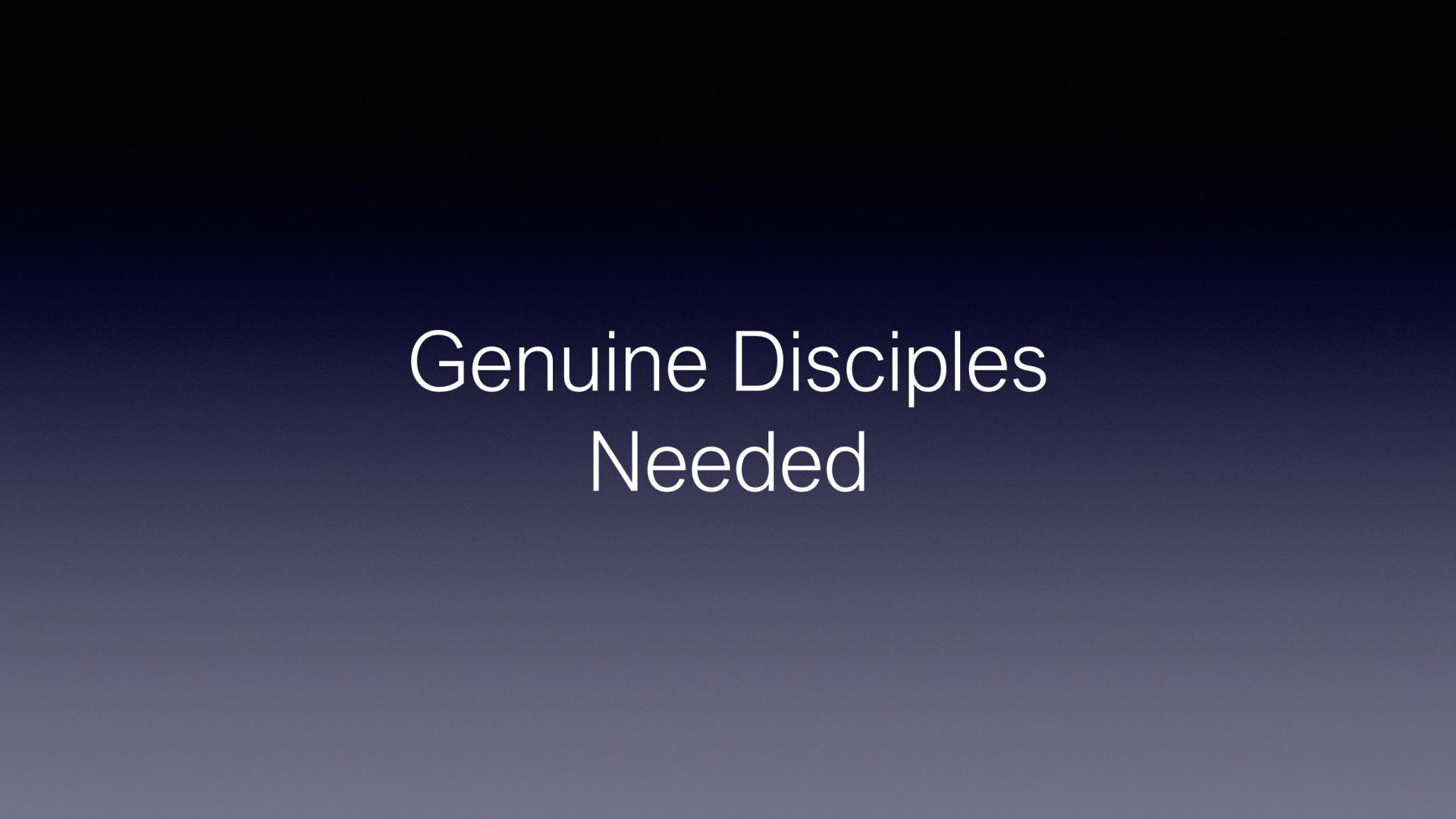 ESH-10 - The Discipline Of Disciple-Making (13)